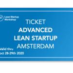 Advanced Lean Startup ticket