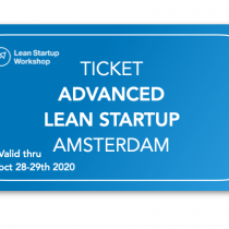 Advanced Lean Startup ticket